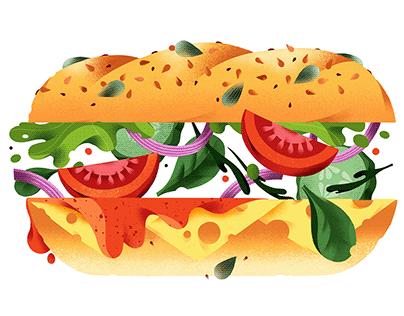 Food Illustrations Publix