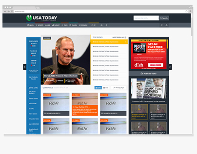 USA Today ,, Redesign