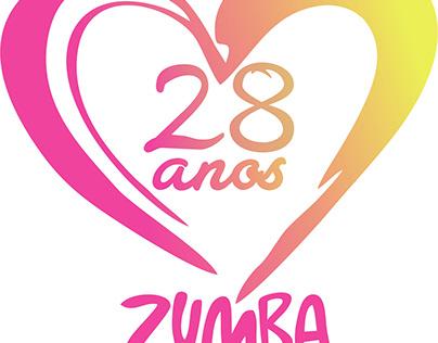 Logomarca - Zumba 28 anos