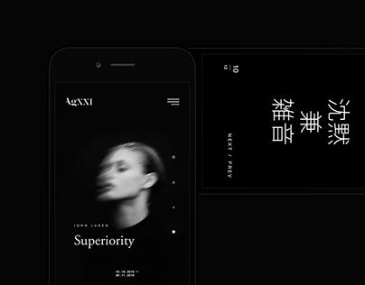 AgXXI Website