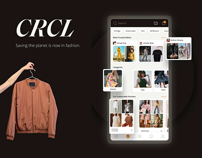 CRCL - Circular fashion | UI/UX