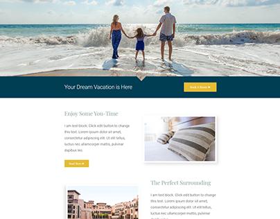 Landing Page-Hotel