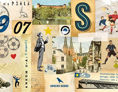 Postcards/vykort Arkens Gärde