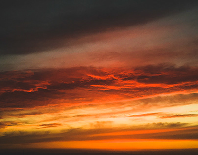 Devil with an angel mask -A picture of the sky