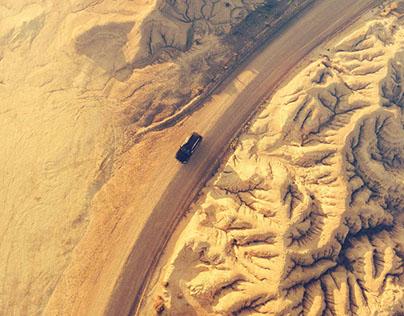 Mercedes-Benz GLE 350 - bright desert