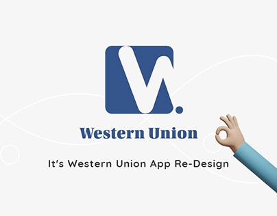 Western Union App Re-Design
