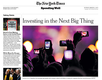Spending Well | The New York Times
