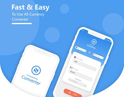 Currency Converter App UI/ UX
