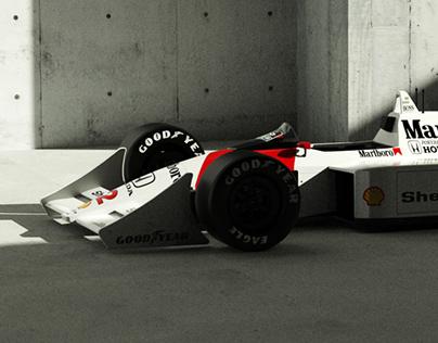 McLaren MP4/4 1988