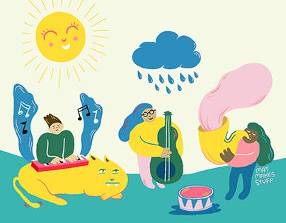 Kids' music festival