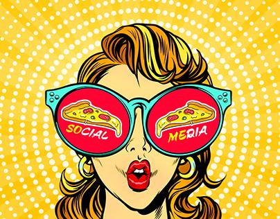 MISTERO 1 PIZZA SOCIAL MEDIA