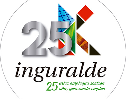 Logotipo 25 aniversario Inguralde