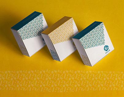MAZAQ brand identity & packaging.