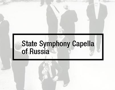 STATE SYMPHONY CAPELLA OF RUSSIA | website