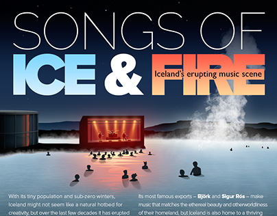 Songs of ice & fire - infographic