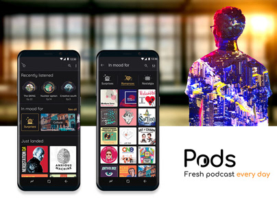Pods- App design