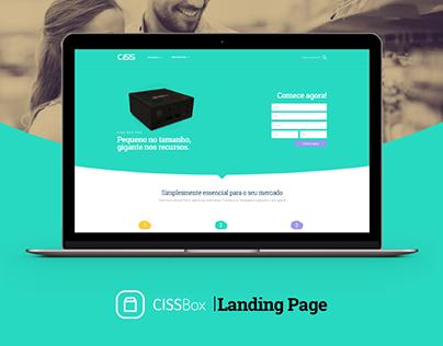 Box - Landing Page