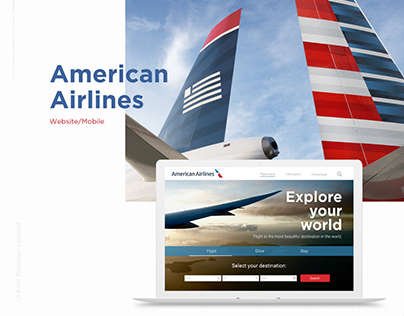 American Airlines | Redesign Concept