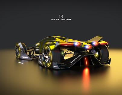 Lamborghini Supersonico livery design