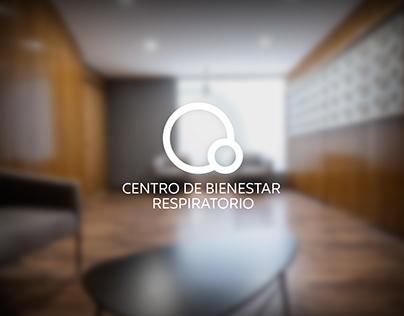 Brand Identity Centro de Bienestar Respiratorio