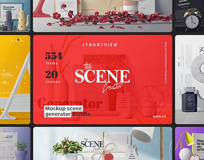 The Scene Creator / Frontview