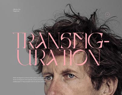 Olivier De Sagazan - Transfiguration Portfolio
