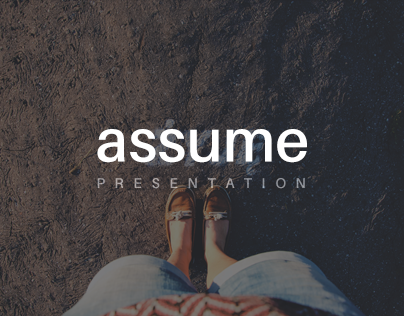 Assume Keynote and PowerPoint Template