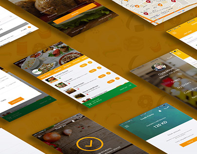Food Pickup App Design