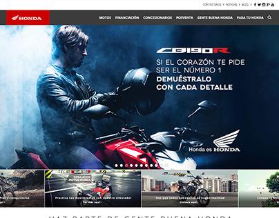Site - Honda Motos