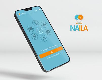 Naila APP UI Design