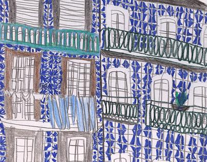 Two weeks of Porto / sketchbook