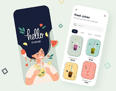 Juice mobile app by Ghulam Rasool