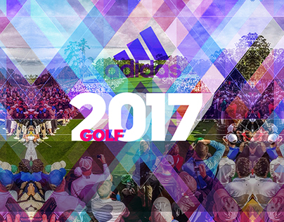2017 adidas Golf creative direction for competition