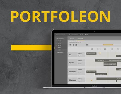 Portfoleon - project management tool