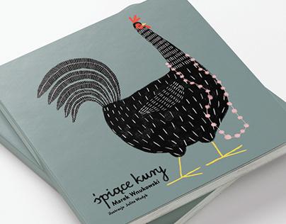 """Książka dla dzieci """"Śpiące kury"""""""