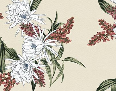 ESTAMPA   Delicate Floral