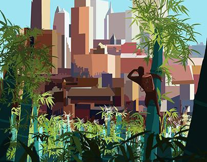City found