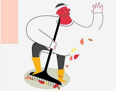 USBL brand illustrations