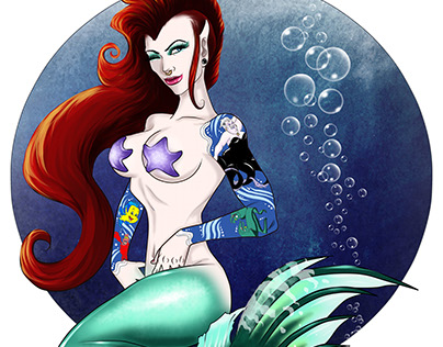 Under the Sea Pin-Up