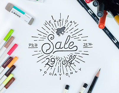 Tombow Leap Day Sale