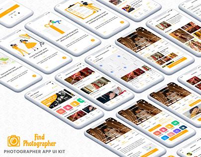 Find-Photographer-App-UI-Kit
