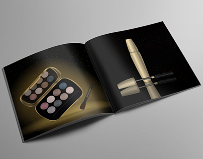 Glamorous Cosmetic Products Catalog