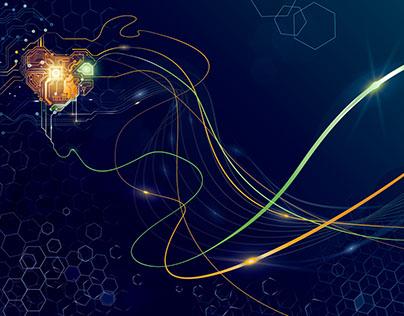 network pulse wallpaper