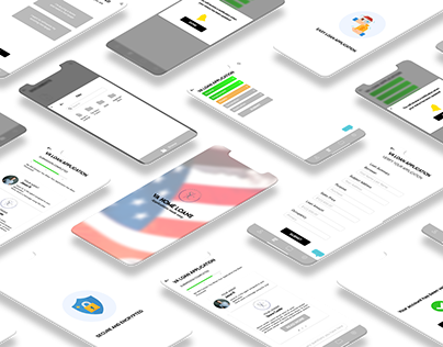 VA Loans App Layout and Design