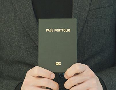 PASS PORTFOLIO Bookbinding