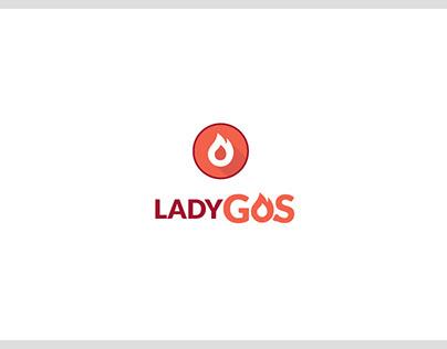 LADY Gas app design