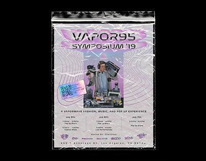 Vapor95 Symposium'19 Pop-Up Poster