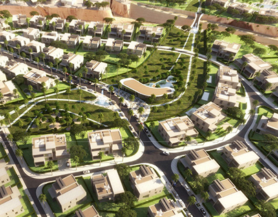 a new urban community in the city of the future