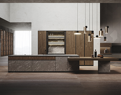 Kitchen Realistic Render #134