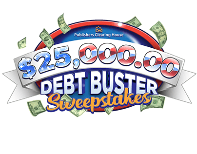 PCH $25,000.00 Debt Buster Sweepstakes
